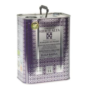 Suerte Alta Picual Olivenöl Nativ Extra Bio 3l