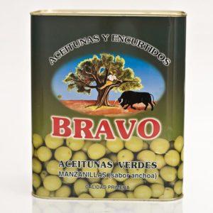Bravo Oliven kernlos Dose 8,0/4,0 kg