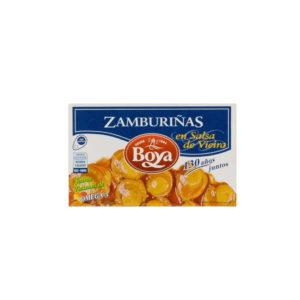 Boya Zamburiñas en Salsa Vieira 110/60g