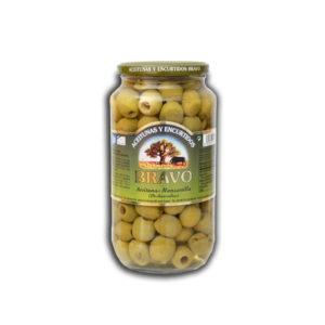 Bravo Oliven kernlos 300/150g Glas