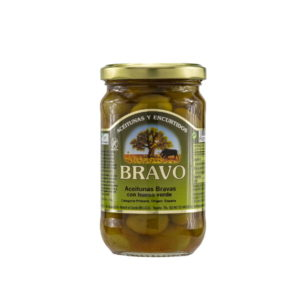 Bravo Oliven Bravas 300/170g Glas