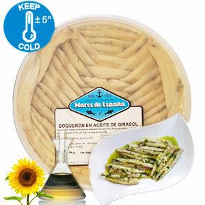 Boquerones natur – Sardellen – 100 / 140 g Tray